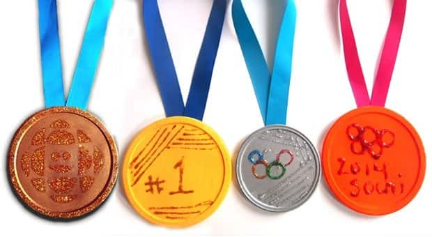 Olympics Craft Idea: Make Your Own Medals | Play | CBC Parents