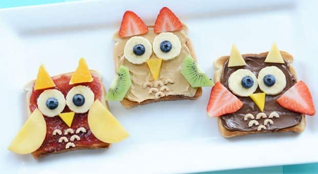 Cute Food Owl Toast For Breakfast Food Cbc Parents