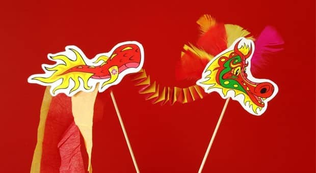 Printable Dragon Craft for Lunar New Year | Play | CBC Parents