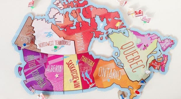 Simple Map Of Canada.Printable Map Of Canada Puzzle Play Cbc Parents