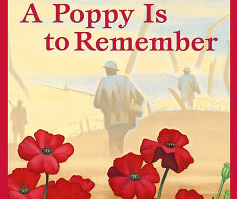 Book cover: A Poppy is to Remember (Heather Patterson and Ron Lightburn)