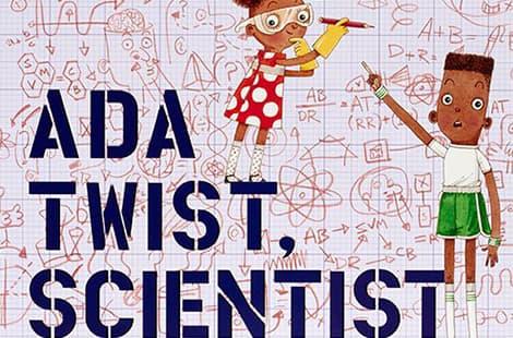 Book cover: Ada Twist, Scientist by Andrea Beaty