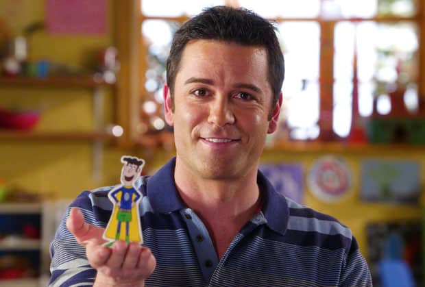 Yannick Bisson, star of The Adventures of Napkin Man