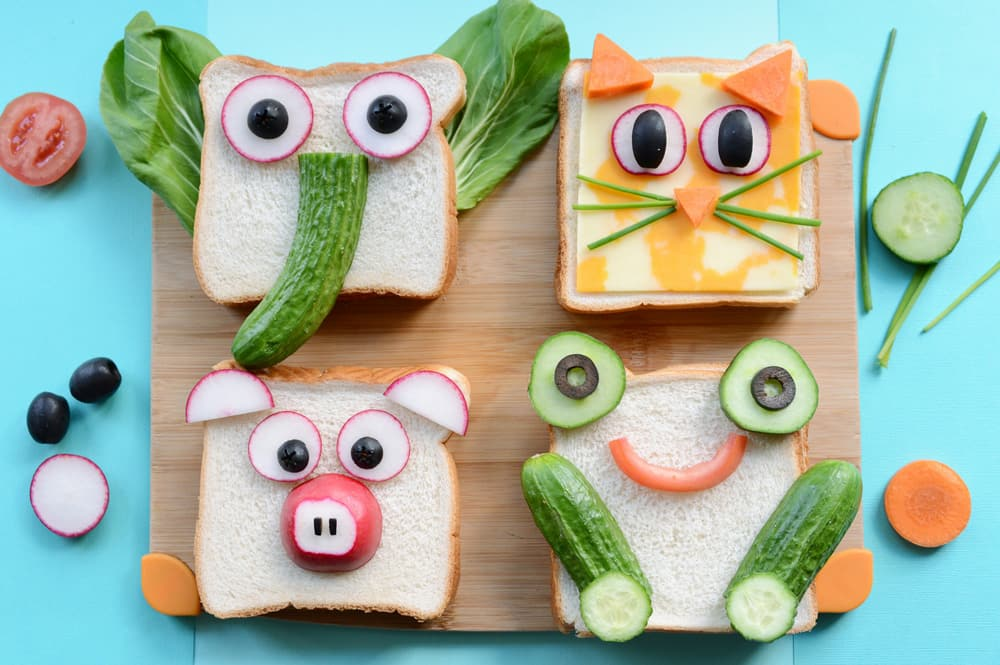 Sandwich Decoration Ideas Kids