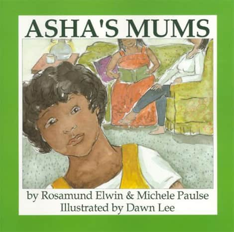 Book cover: Asha's Mums by Rosamund Elwin