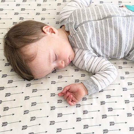 Child sleeps.