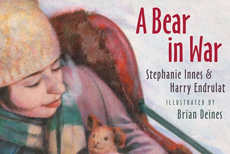 Book cover: Bear In War (Stephanie Innes, Harry Endrulat, and Brian Deines)