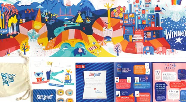 silly street a board game for your kids who are just getting started playing board games