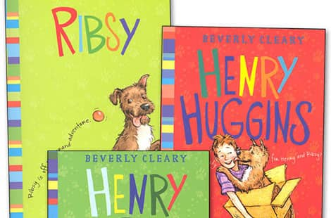 Book covers: Henry Higgins by Beverly Cleary