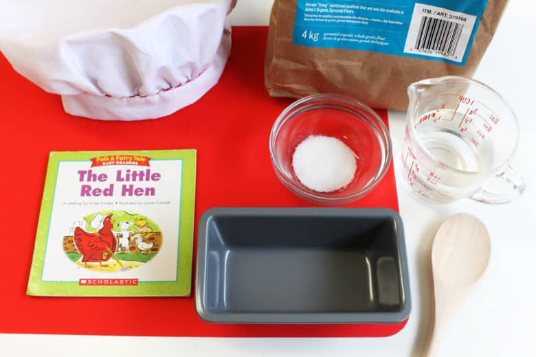 A cooking set for kids based on the book