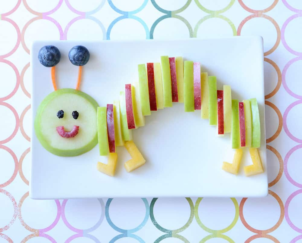 Completed fruit caterpillar