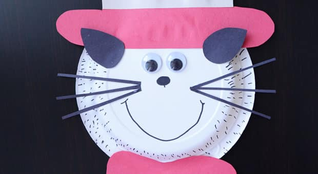 Share & Easy Craft for Kids: Paper Plate Cat in the Hat   Play   CBC Parents
