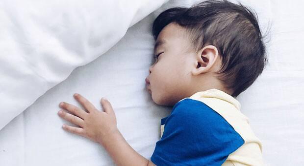 Child sound asleep