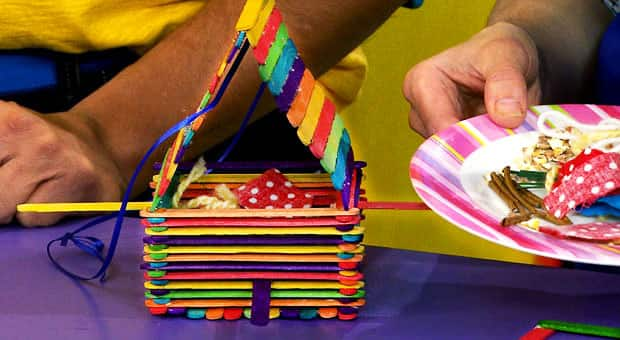 Chirp Craft: Birdhouse and Nesting Materials | Play | CBC