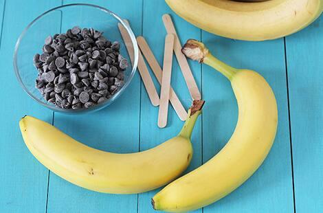 frozen banana supplies