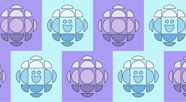 cbc and cbc kids logo rendered in fun colours