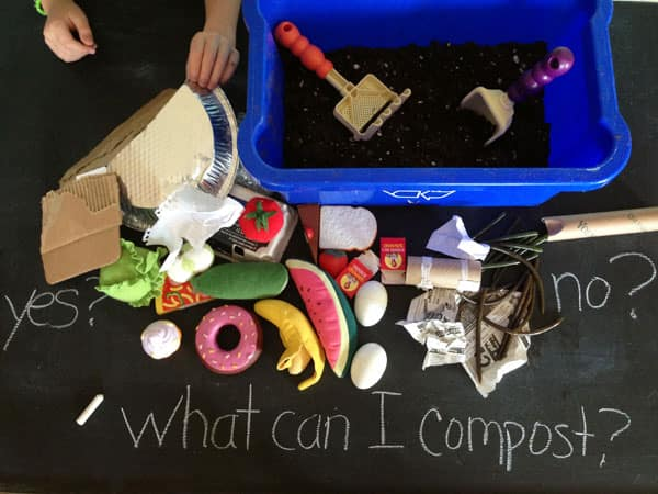 a composting activity
