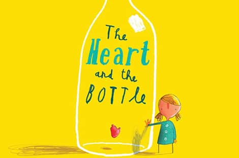 Book cover: The Heart and the Bottle (Oliver Jeffers)