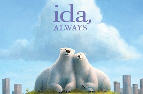 Book cover: Ida, Always (Caron Levis, Illustrated by Charles Santoso)