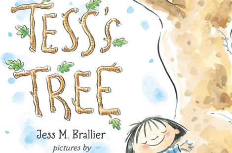 Book cover: Tess's Tree (By Jess Brallier, Illustrated by Peter H. Reynolds)