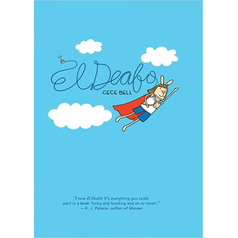 Book cover: El Deafo by Cece Bell