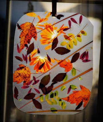 Cool Crafts To Do With Fall Leaves