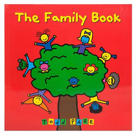Book cover: The Family Book by Todd Parr