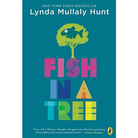 Book cover: Fish In A Tree by Lynda Mullaly Hunt