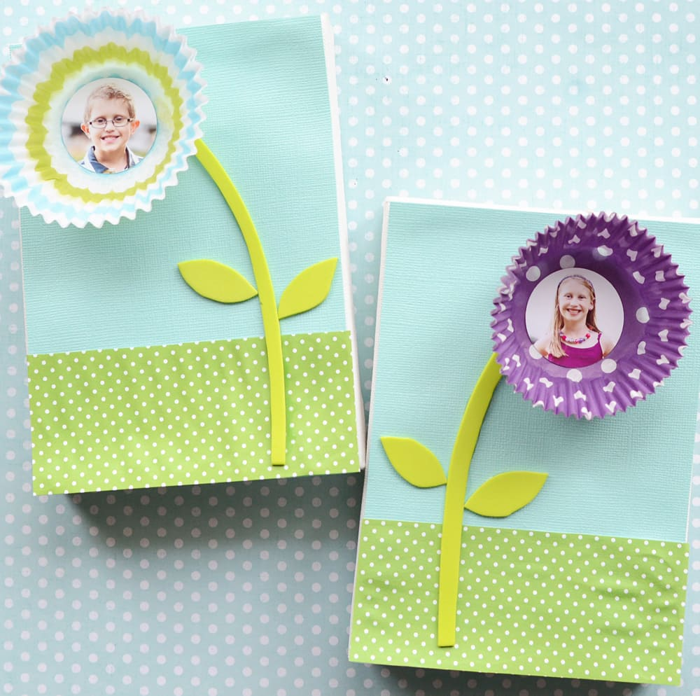 Flowers Made Out Of Cupcake Liners And Craft Foam With Photos Children In The