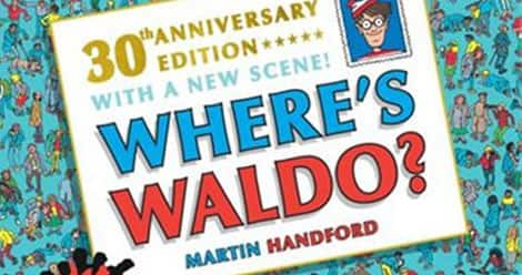 The cover of the 30th anniversary edition of Where's Waldo
