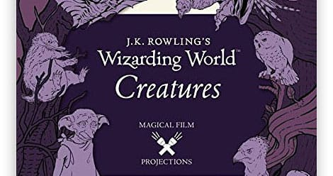 Cover of J.K. Rowling's Wizarding World Creatures