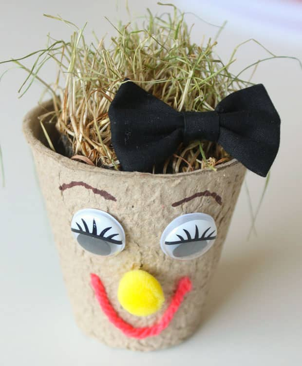 A finished grass head.