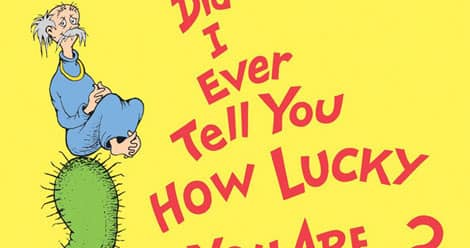 Image from the cover of Did I Ever Tell You How Lucky You Are?