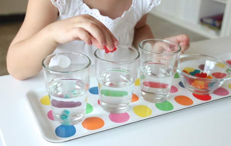 Эксперимент с конфетами