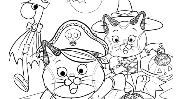 Colouring Sheet Halloween : Printable halloween colouring pages play