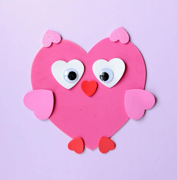 Sweet Valentine's Craft: Making Animals from Heart Shapes ...