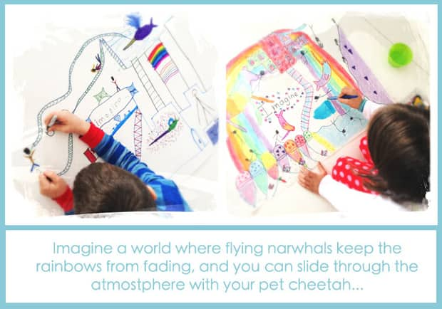 Creative Art Project for Kids: Create Your Own World | Play | CBC