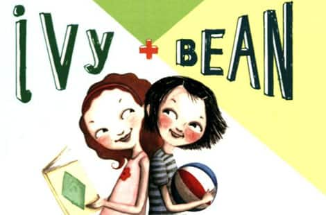 Book cover: Ivy + Bean