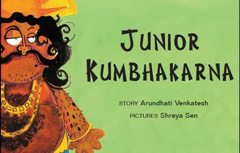 The cover of Junior Kumbhakarna