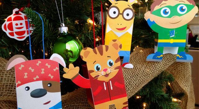 CBC Kids Printable Ornaments! Daniel Tiger, Bookaboo and More ...