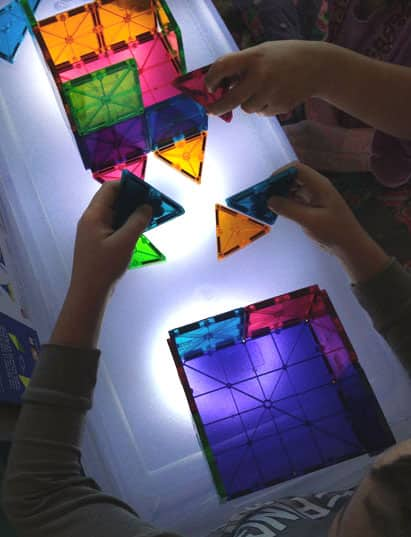 Build Your Own Light Table On A Budget Play Cbc Parents