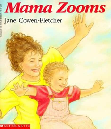 Book cover: Mama Zooms by Jane Cowen-Fletcher