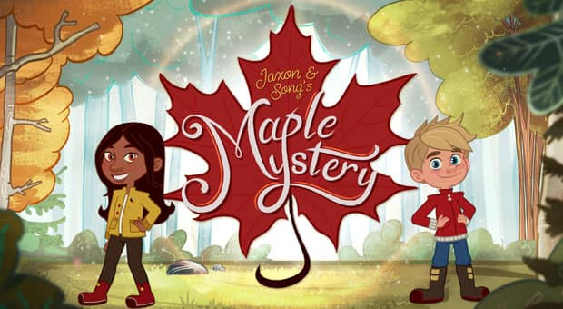 Jaxon and Song from Maple Mystery