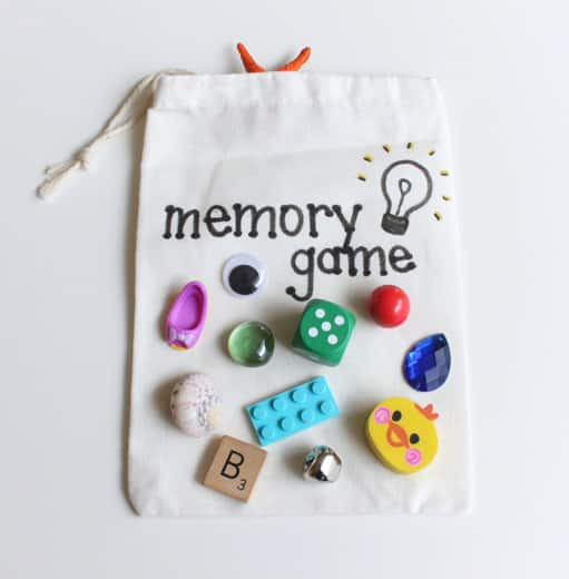 A small cotton bag that says