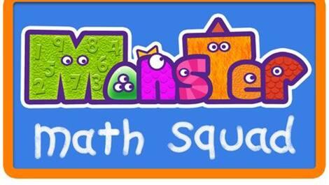 Monster Math Squad show logo