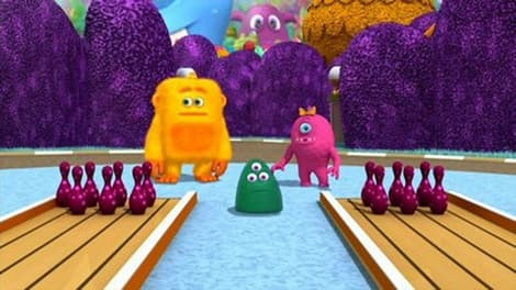 The characters from Monster Math Squad.