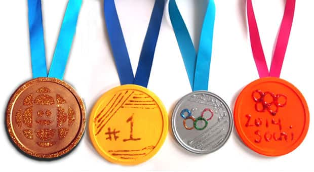 Olympics Craft Idea Make Your Own Medals Play Cbc Parents
