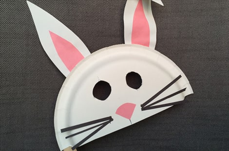 Make Masks for Pretend Play & 13 Fun Ways to Play With Paper Plates | Play | CBC Parents