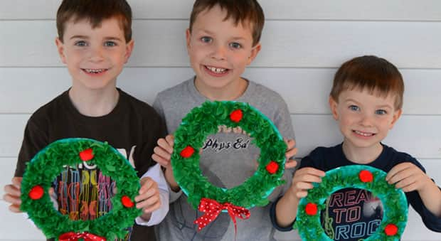 Christmas Crafts With Paper Plate For Kindergarteners