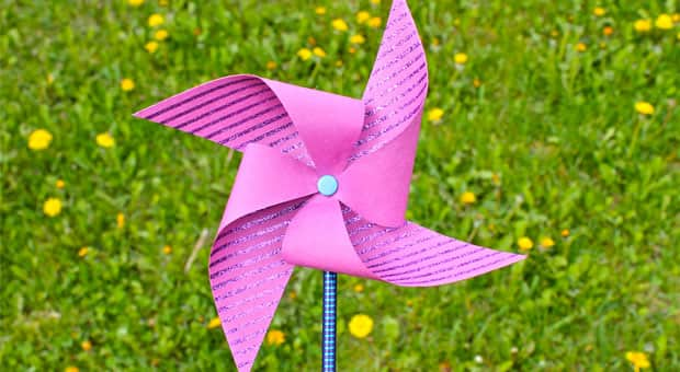 Make Your Own Pencil Pinwheels Craft For Kids Play